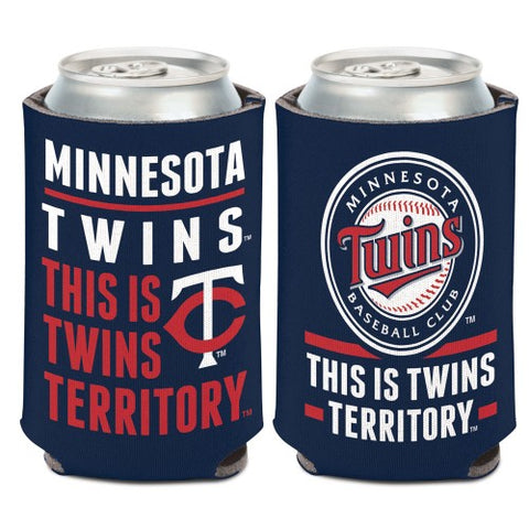 Minnesota Twins Can Cooler Slogan Design