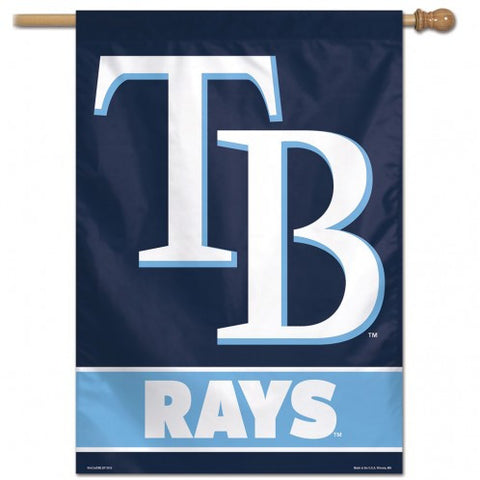 Tampa Bay Rays Banner 28x40 Vertical Alternate Design