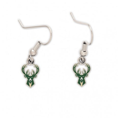 Milwaukee Bucks Dangle Earrings - Wincraft