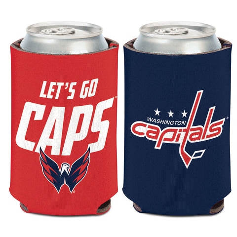 Washington Capitals Can Cooler Slogan Design