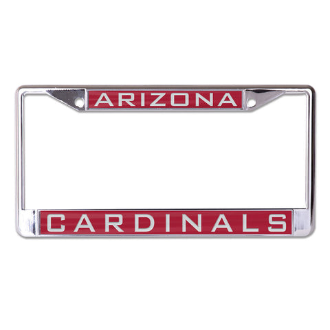 Arizona Cardinals License Plate Frame - Inlaid