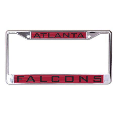 Atlanta Falcons License Plate Frame - Inlaid