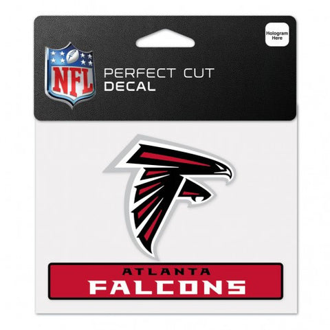 Atlanta Falcons Perfect Color Decal 4.5x5.75""