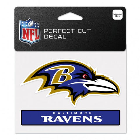 Baltimore Ravens Perfect Color Decal 4.5x5.75""