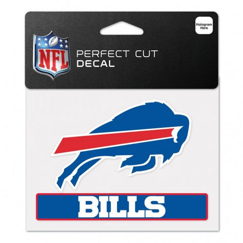Buffalo Bills Perfect Color Decal 4.5x5.75""