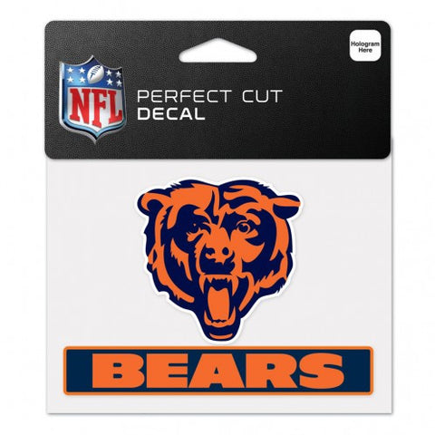 Chicago Bears Perfect Color Decal 4.5x5.75""