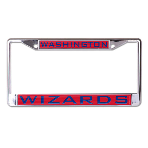 Washington Wizards License Plate Frame - Inlaid