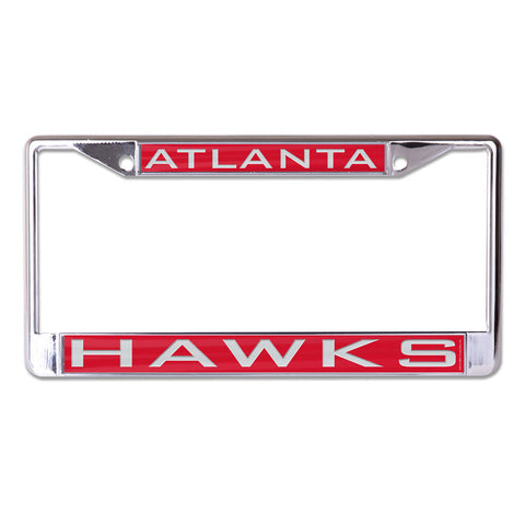 Atlanta Hawks License Plate Frame - Inlaid