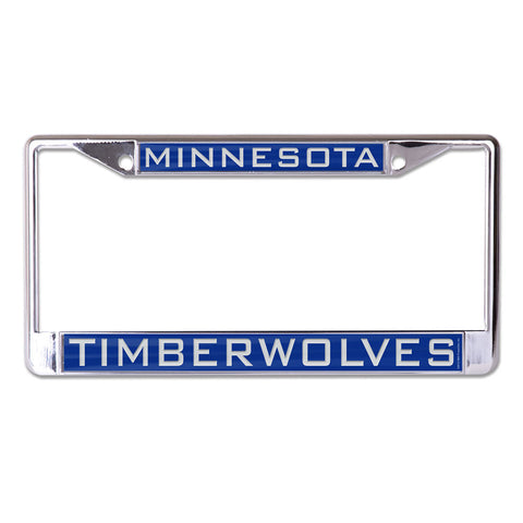 Minnesota Timberwolves License Plate Frame - Inlaid