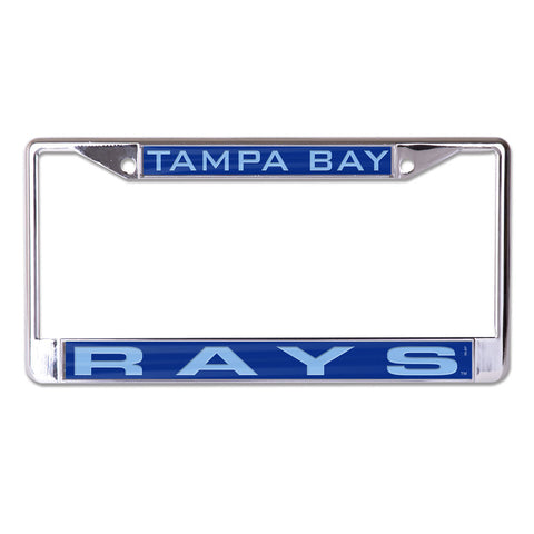 Tampa Bay Rays License Plate Frame - Inlaid