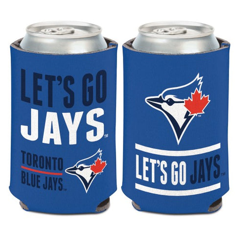 Toronto Blue Jays Can Cooler Slogan Design