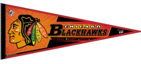 Chicago Blackhawks Pennant
