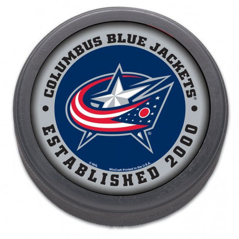 Columbus Blue Jackets Hockey Puck - est 2000 - Bulk