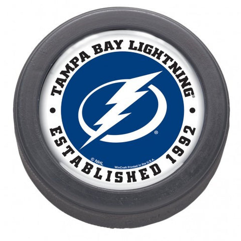 Tampa Bay Lightning Hockey Puck - Est 1992 - Bulk