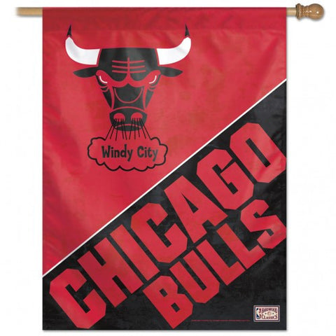 Chicago Bulls Banner 28x40 Vertical
