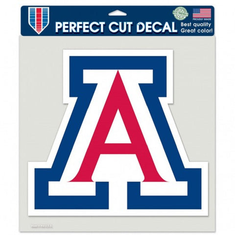 Arizona Wildcats Tide Die Cut Color Decal 8x8""