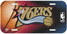 Philadelphia 76ers License Plate