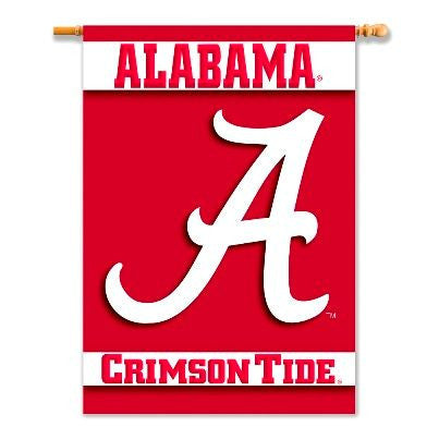Alabama Crimson Tide Vertical Banner 27x37""