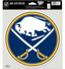 Buffalo Sabres Die Cut Color Decal 8x8""