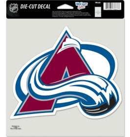 Colorado Avalanche Die Cut Color Decal 8x8""