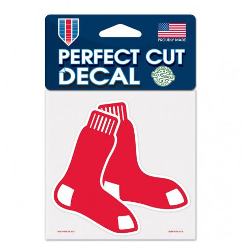 Boston Red Sox Perfect Cut Color Decal 4x4""