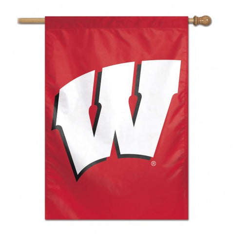 Wisconsin Badgers Banner 28x40 Vertical Alternate Design