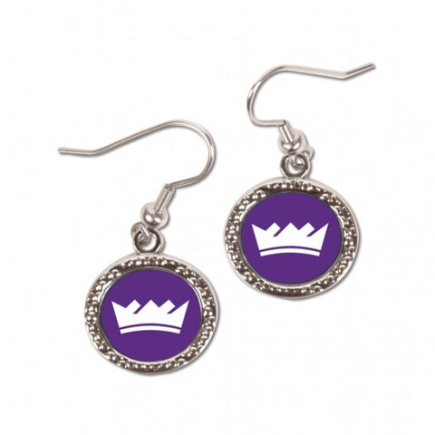Sacramento Kings Earrings Round Style