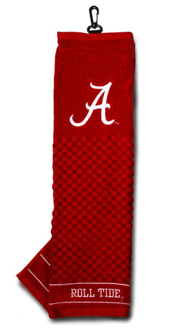Alabama Crimson Tide Embroidered Golf Towel 16x22""