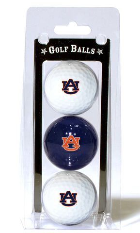 Auburn Tigers Golf Balls 3 Pack