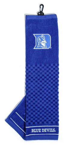Duke Blue Devils Embroidered Golf Towel 16x22""
