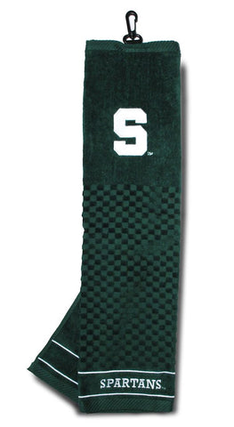 "Michigan State Spartans 16""x22"" Embroidered Golf Towel"