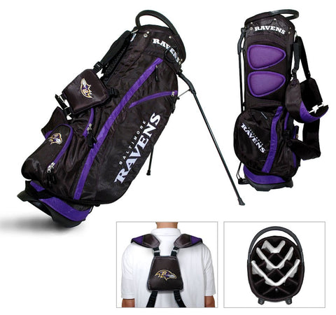 Baltimore Ravens Golf Stand Bag