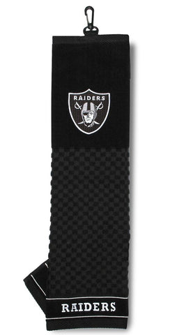 "Oakland Raiders 16""x22"" Embroidered Golf Towel"