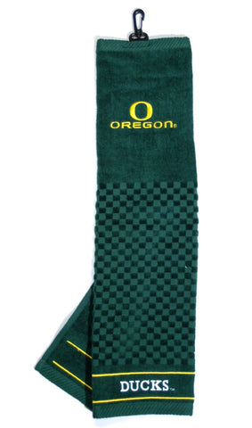 "Oregon Ducks 16""x22"" Embroidered Golf Towel"