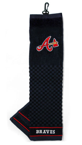 Atlanta Braves Embroidered Golf Towel 16x22""