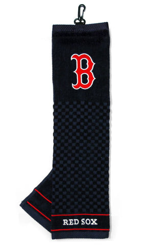 Boston Red Sox Embroidered Golf Towel 16x22""