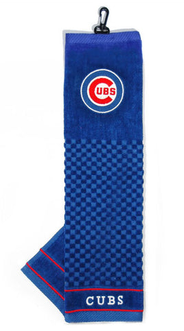Chicago Cubs Embroidered Golf Towel 16x22""