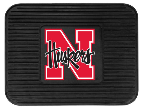 Nebraska Cornhuskers  Heavy Duty Vinyl Rear Car Mat