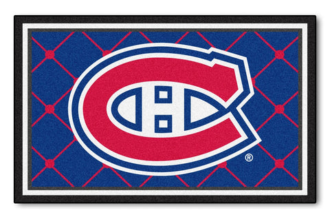 Montreal Canadiens Area Rug - 4'x6'