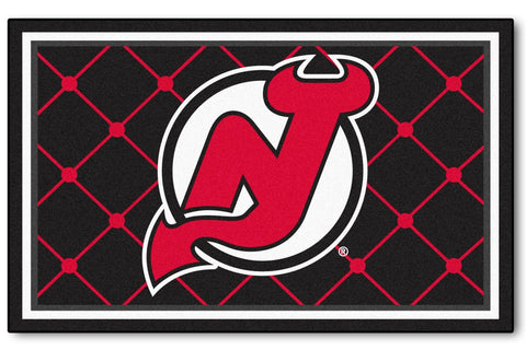 New Jersey Devils Area Rug - 4'x6'