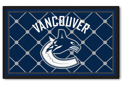 Vancouver Canucks Area Rug - 4'x6'