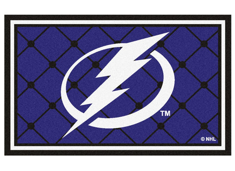 Tampa Bay Lightning Area Rug - 4'x6'