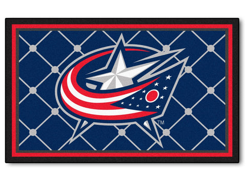 Columbus Blue Jackets Area Rug - 4'x6'