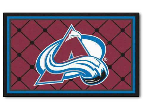 Colorado Avalanche Area Rug - 4'x6'