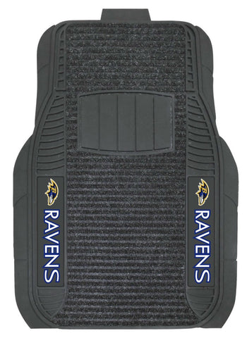 Baltimore Ravens Car Mats Deluxe Set