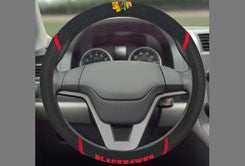 Chicago Blackhawks Steering Wheel Cover - Mesh/Stitched