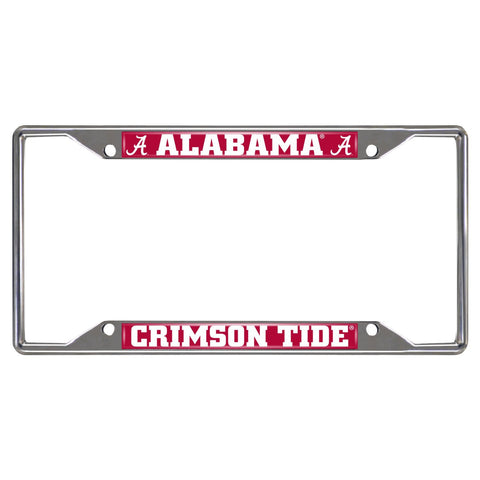 Alabama Crimson Tide Metal License Frame - FanMats