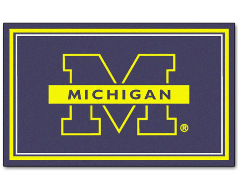 Michigan Wolverines Area rug - 4'x6'
