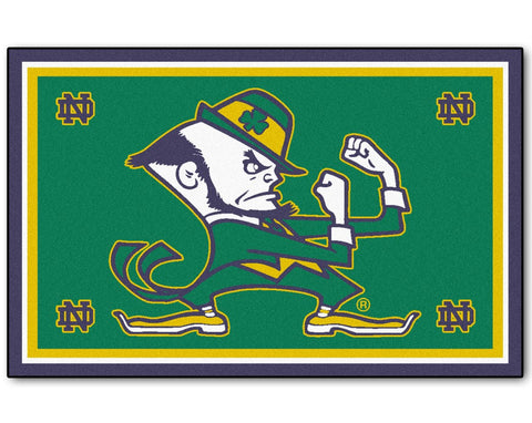 Notre Dame Fighting Irish Area Rug - 5'x8'