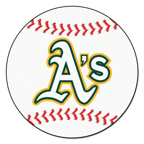 Oakland Athletics Baseball Mat 29 inch